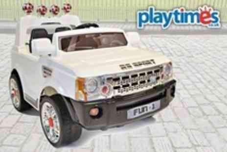 Playtimes - Kids Ride On 12V Jeep - Save 57%