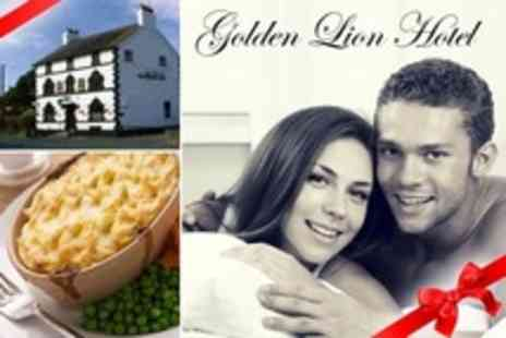 Golden Lion Hotel - Two Night Stay For Two With Breakfast and Three Course Meal - Save 60%