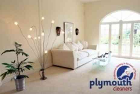 Plymouth Cleaners - Carpet Cleaning in Two Rooms - Save 36%