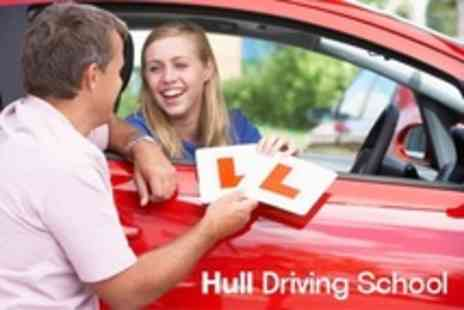 Hull Driving School - Three 60 Minute Driving Lessons - Save 67%