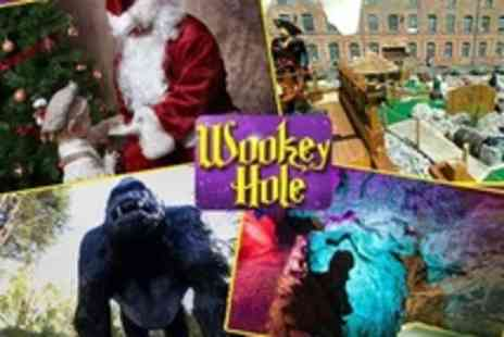 Wookey Hole Caves - Santaland Evening Ticket - Save 55%