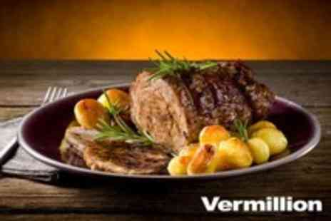 Vermillion Restaurant - Three Course Sunday Lunch For Two - Save 56%