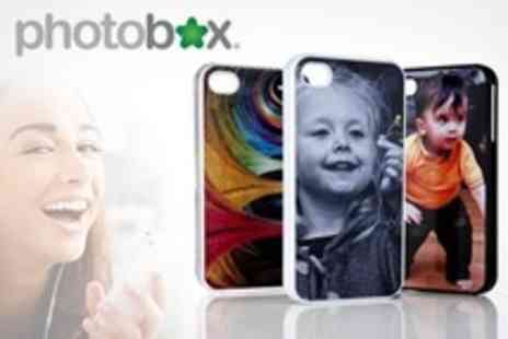 PhotoBox - One Personalised Photo Cover for iPhone 4/4S/5 - Save 59%