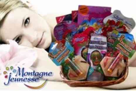 Montagne Jeunesse - Beauty Basket with With Products Including Face Masks and Hair Serums - Save 54%