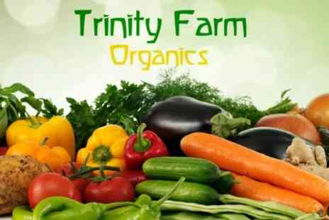 Trinity Farm Organics - One Small Veg Box Delivered To Your Door For Six Weeks - Save 52%