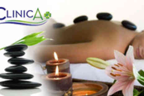 Clinic A Plus - Soothe the stress away with a gorgeous hot stone massage - Save 78%