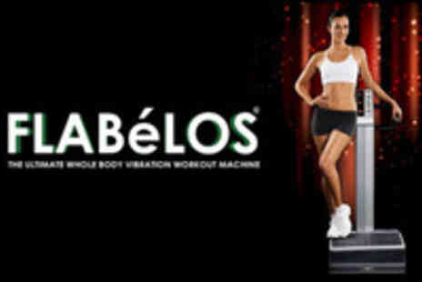Buff n Bronze - 20 x 10 Minute Sessions of Flabelos Vibration Plates - Save 67%