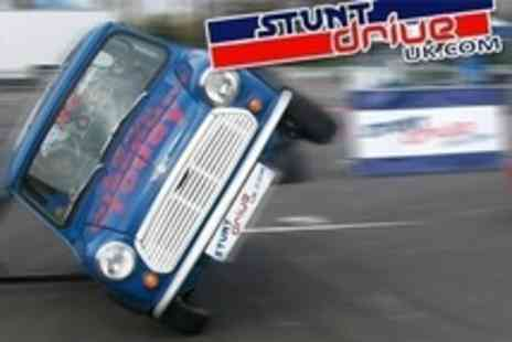 Stunt Drive UK - Stunt Driving Tuition For One - Save 54%
