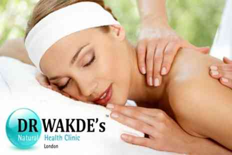 DR. WAKDE's Natural Health Clinic - Back Therapy Massage - Save 68%