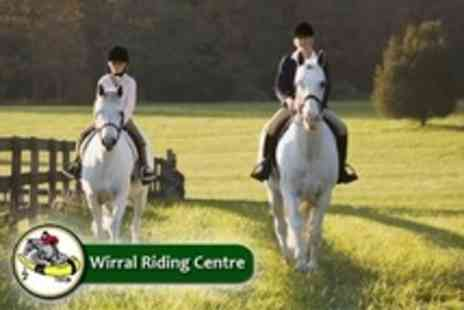 Wirral Riding Centre - Two Hours of Horse Riding Lessons - Save 63%