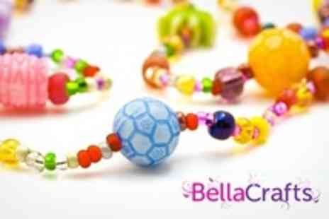 BellaCrafts - Craft Bonanza With Silk Painting, Jewellery Design and More For One - Save 59%