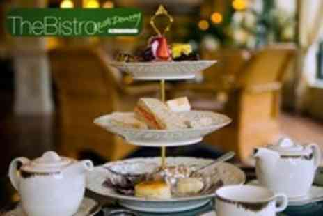 The Bistro at Haguelands - 'Winter Warmer' or 'Retro' Afternoon Tea With Bubbly For Two - Save 25%