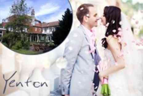 The Yenton - Wedding Venue Package For 50 Guests With Food and Wine Plus Overnight Stay For Married Couple - Save 0%