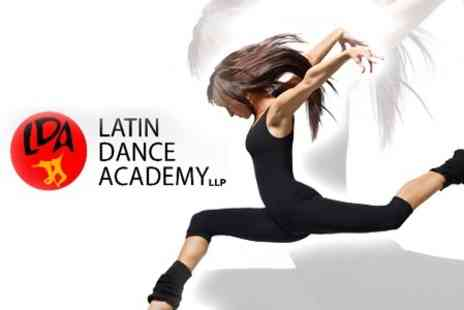 Latin Dance Academy - Four Introductory Zumba or Salsa Lessons - Save 71%