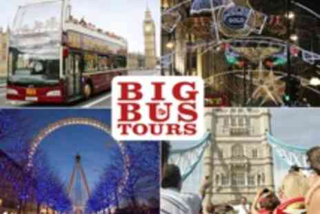Big Bus Tours - Family Tickets for Big Bus Tours Londons Best Hop on Hop off Sightseeing Tour includes River Cruise Ticket - Save 40%