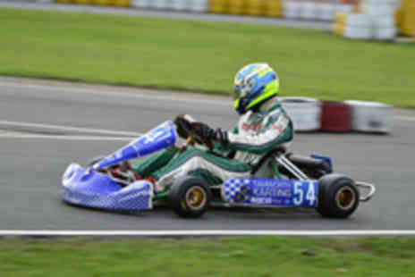 Tamworth Karting - 30 minute outdoor go karting experience - Save 60%
