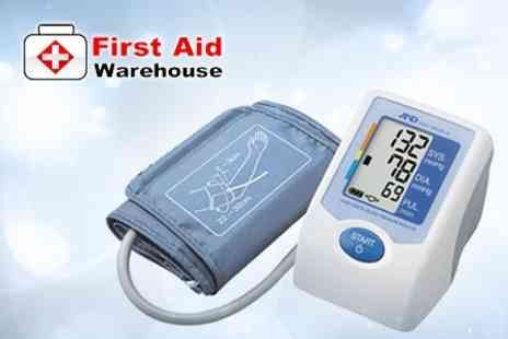 First Aid Warehouse - UA-621 Fully Automatic Blood Pressure Monitor  from First Aid Warehouse - Save 52%