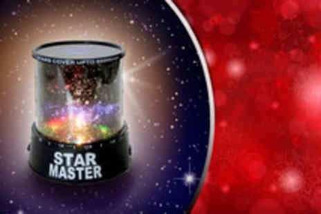 Big Bargain Store - A colourful stars laser projector - Save 65%