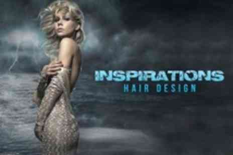 Inspirations Hair Design - Half Head Highlights or Full Head Colour With Cut and Conditioning Treatment - Save 60%