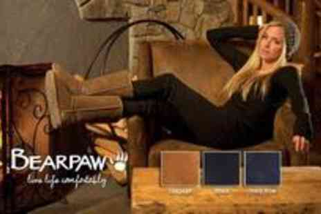 BearPaw Boots - Pair of Emma 8 short sheepskin lined boots - Save 50%