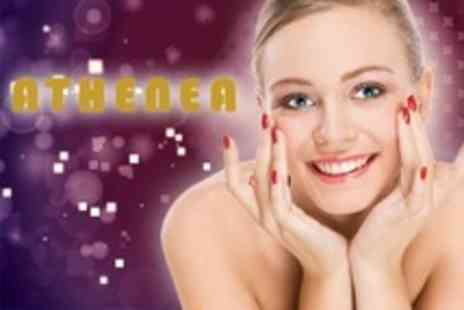 Athenea - Beauty Package with Manicure, Brow Wax and Eyelash Tint - Save 58%