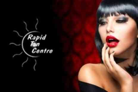 Rapid Tan Centre - Full Set of Eyelash Extensions Plus Spray Tan - Save 28%