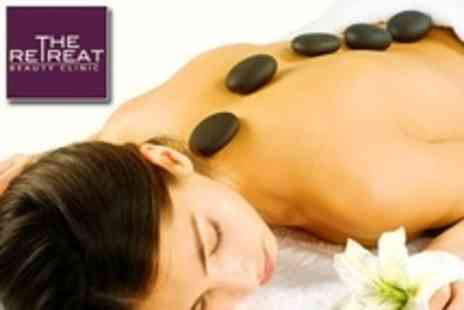 The Retreat Beauty Clinic - Full Body Hot Stone Massage - Save 65%