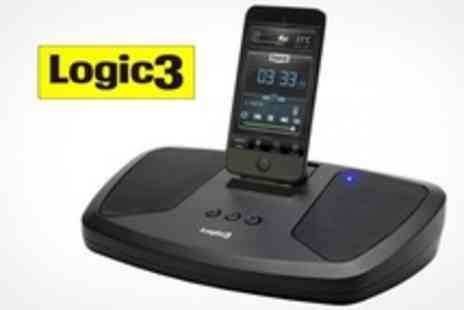 Logic3 - i Station 12 iPhone and iPod Dock Speakers - Save 63%