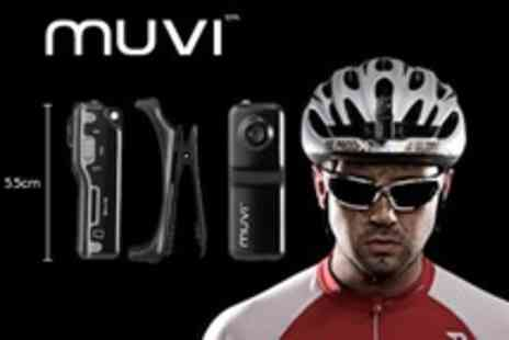 Veho - Veho Muvi Micro Camcorder Or Muvi Atom Super Micro Camcorder 'No Proof No Glory' Sports Bundle - Save 52%
