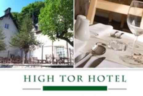 High Tor Hotel - In Derbyshire One Night Stay For Two With Breakfast - Save 62%