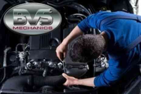 BVS Mechanics - Full Car Service With Oil Filter and Mini Valet - Save 75%