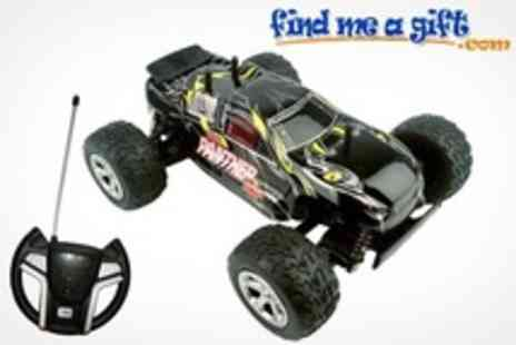 Find Me a Gift - Remote Controlled Trucks Truggy Crusher or Buggy Panther - Save 50%