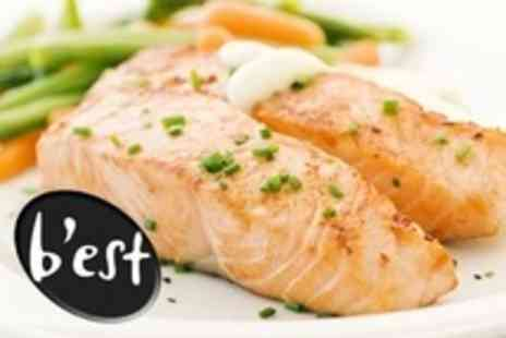 Best Restaurant - Three Course French Meal For Two - Save 57%