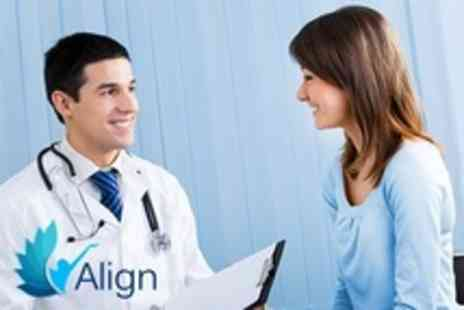 Align - Chiropractic Consultation and Examination With Gait Scan and Analysis - Save 30%