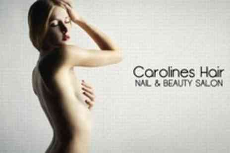 Carolines Beauty Salon - Six IPL Hair Removal Sessions - Save 18%