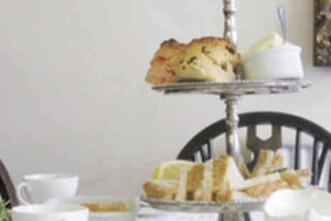 Three Kings Tea Rooms - Afternoon Tea for Two with Wine - Save 50%