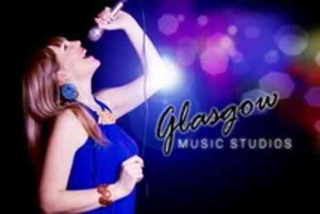 Glasgow Music Studios - Popstar Recording Package - Save 61%