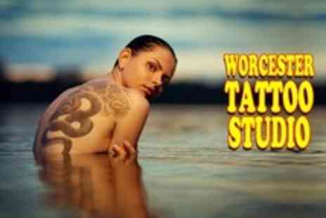 Worcester Tattoo Studio - Tattoo Consultation with Design and 60 Minutes Ink Time - Save 60%