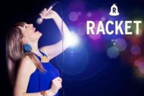 Racket Studios - Two Hour Studio Recording Session with Popstar Experience With CD - Save 69%