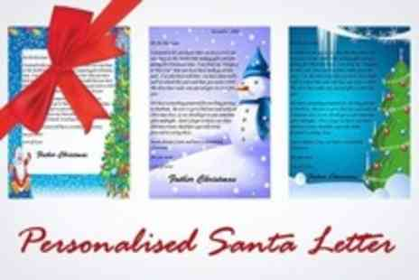 personalisedsantaletter.co.uk - Personalised Letter From Santa With Extras - Save 50%
