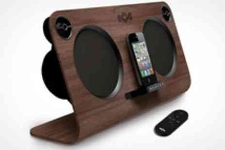 HoMedics - Get Up Stand Up Speaker Dock For iPhone - Save 50%