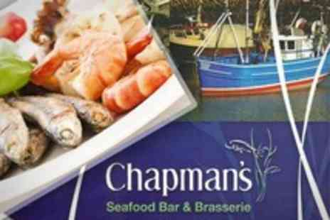 Chapman s Seafood Bar & Brasserie - Seafood Platter For Two or Four from With Bottle of Bubbly - Save 56%