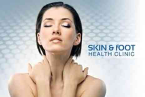 Skin and Foot Health Clinic - Three Microdermabrasion Sessions - Save 80%
