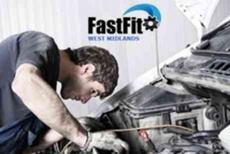 FastFit West Midlands - 64 Point Car Service With Oil Filter Change, Engine Diagnostics and Wash - Save 61%