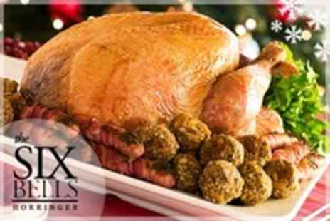 The Six Bells - Christmas Dinner Three Courses For Two - Save 28%
