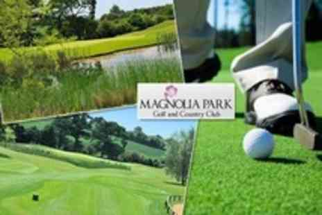 Magnolia Park Golf and Country Club - 18 Holes of Golf With Bacon Roll and Coffee For Two - Save 59%