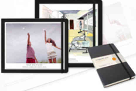 Moleskine Photo Books - Medium 20 Page Photo Book and Moleskin Notebook - Save 52%