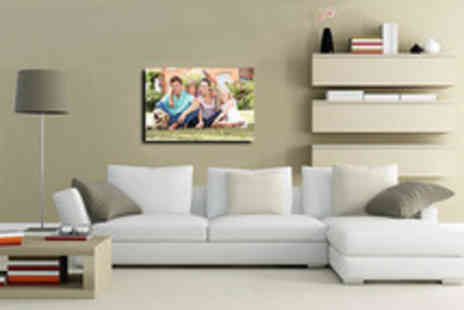 Your Image On Canvas - 30 x 20 A1 personalised photo canvas - Save 85%