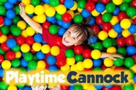 Playtimes - Soft Play Party For Up to 10 Children With Food - Save 52%