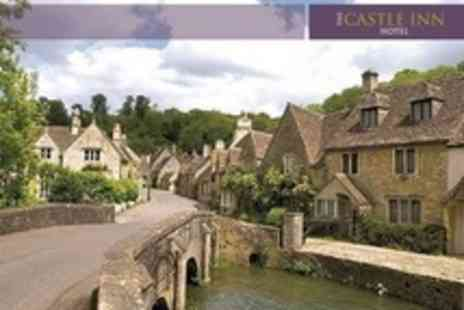 The Castle Inn Hotel - In Castle Combe One Night Stay For Two With Breakfast - Save 50%